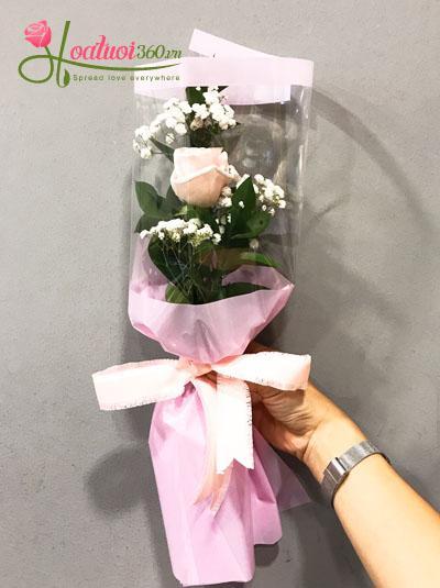 Hoa bó 1 bông- Một tình yêu