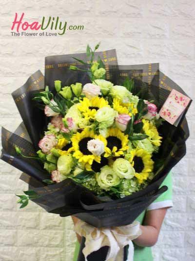 Hoa bó chúc mừng - Khao khát