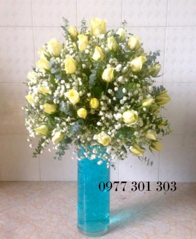 Hoa cắm bình 15_Hoa tươi 360
