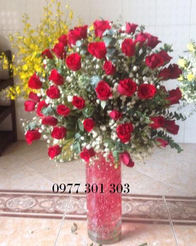 Hoa cắm bình 16_Hoa Tươi 360