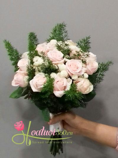 Hoa cầm tay cô dâu- Cuộc đời mới