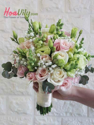 Hoa cầm tay cô dâu - Ngày sánh đôi
