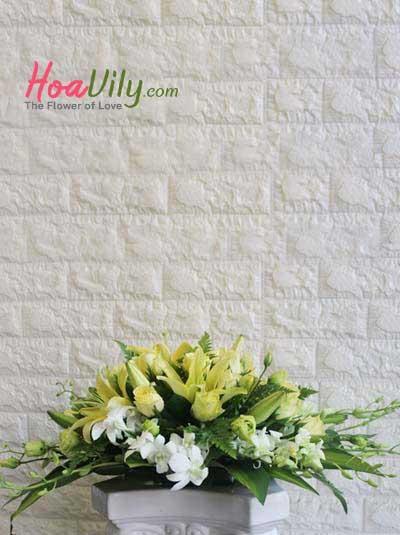 Hoa để bàn - Nắng ấm