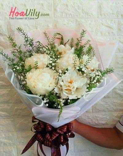 Hoa mẫu đơn trắng - Quốc sắc thiên hương