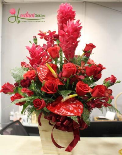 Hoa tặng thầy cô