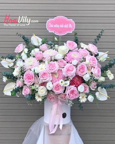 Hộp hoa chúc mừng - Bí mật