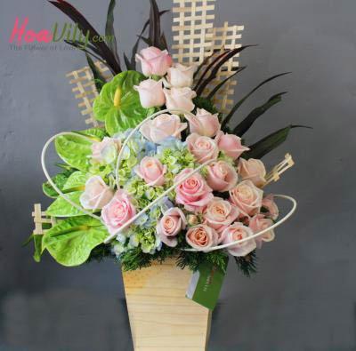 Hộp hoa Nét yêu kiều 1