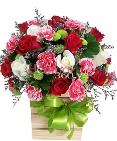 Love box_Hoa tươi 360