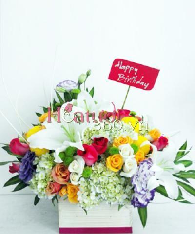 Sweet birthday_Hoa Tươi 360
