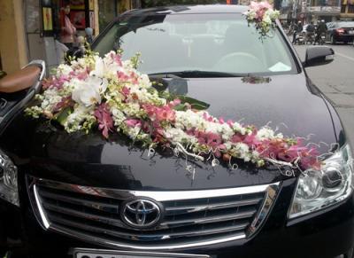 Xe hoa cưới - Mối tình son