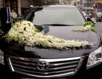 Xe hoa cưới - Hạnh phúc ngọt ngào