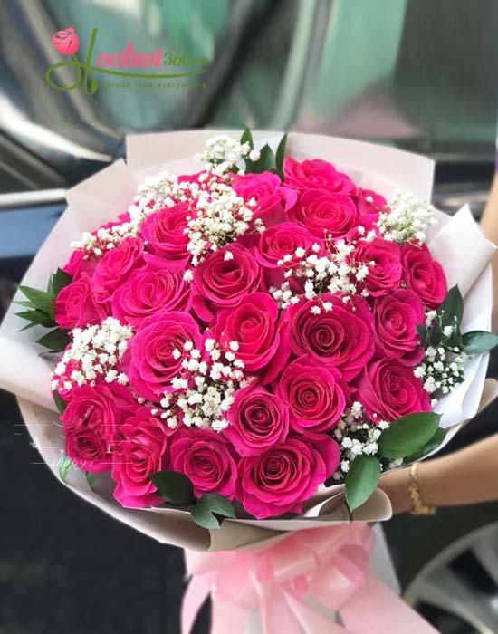 Vẻ đẹp của Hoa hồng Ecuador