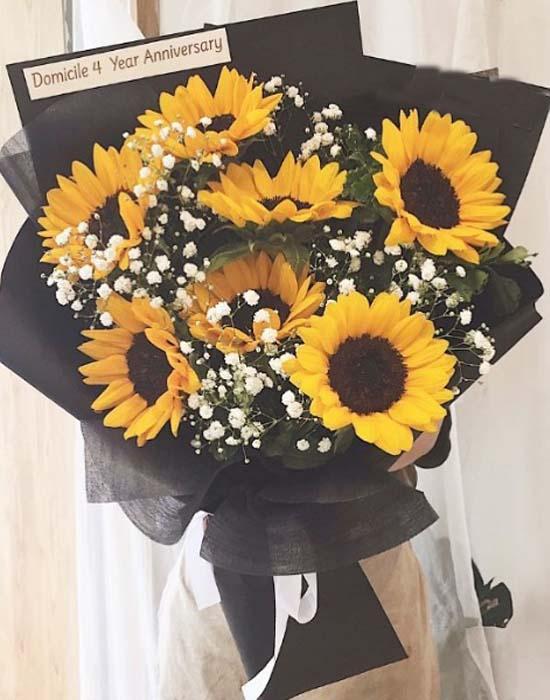 hoa hướng dương - hoa sinh nhật sang trọng