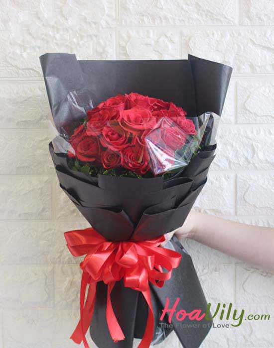 mẫu hoa tặng mẹ hạnh phúc