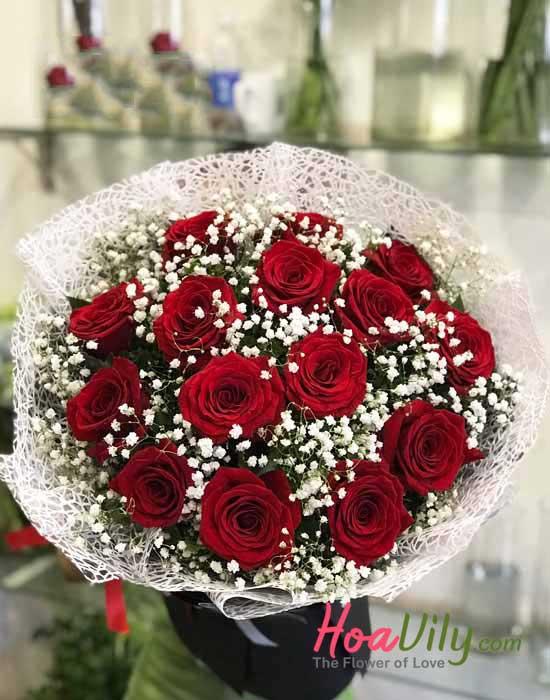Mẫu hoa cao cấp tại hoa vily
