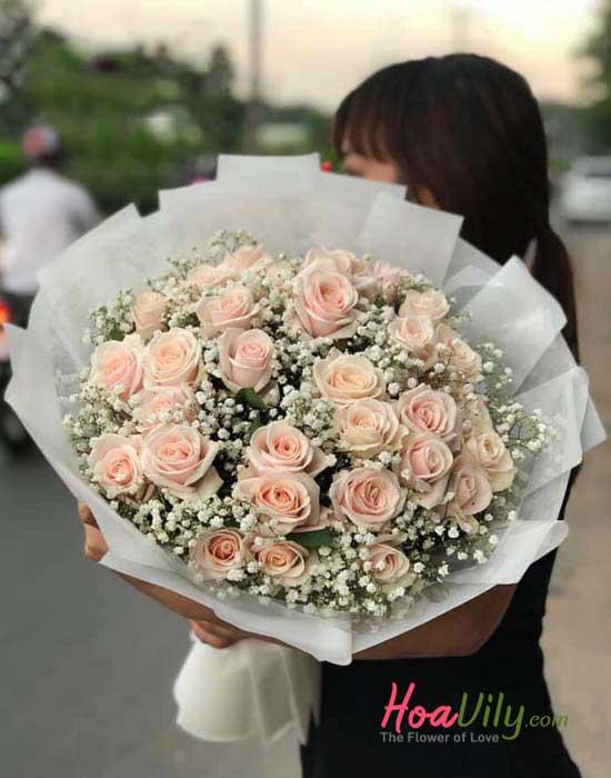 Bó hoa hồng cao cấp