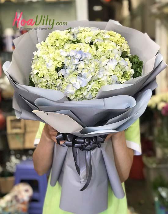 Hoa sinh nhật đẹp nhất - cẩm tú cầu