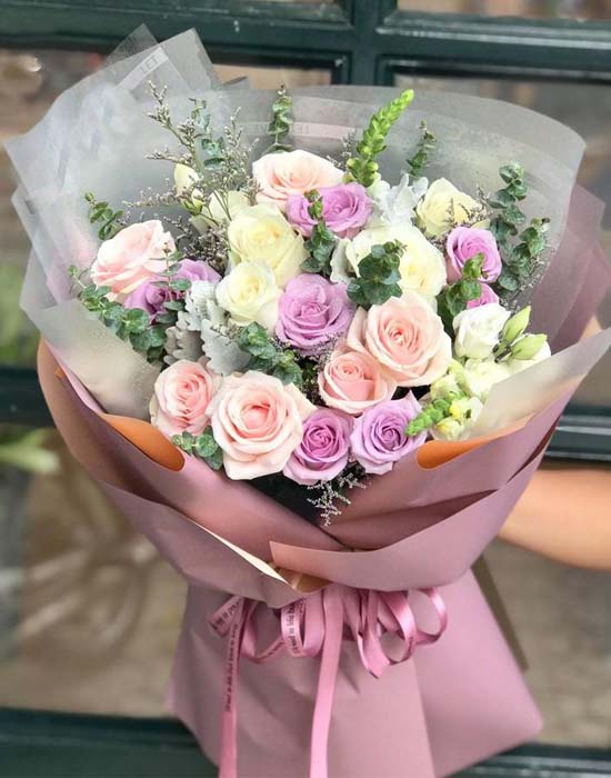 Hoa sinh nhật sang trọng dành tặng người thương