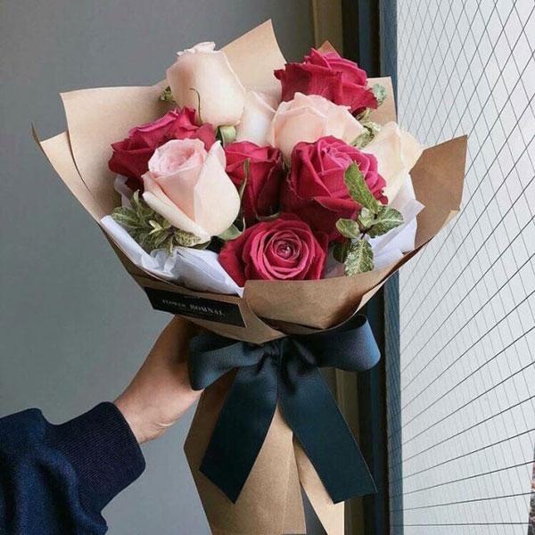 Bó hoa hồng tặng người yêu