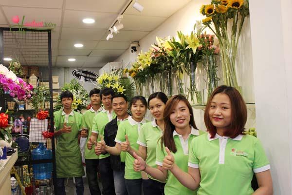 cửa hàng hoa cao cấp Hoa Vily