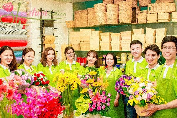dịch vụ hoa mừng em bé tại hoavily