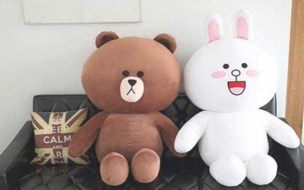 Gấu bông dễ thương là món quà gắn kết tình bạn