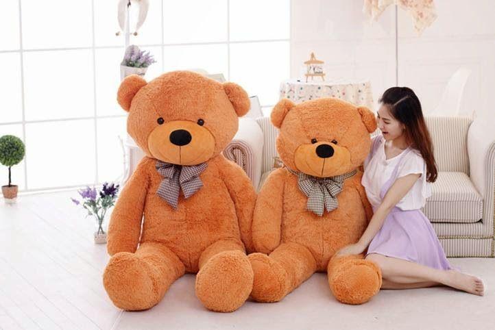 Gấu bông là món quà các bạn gái vô cùng yêu thích