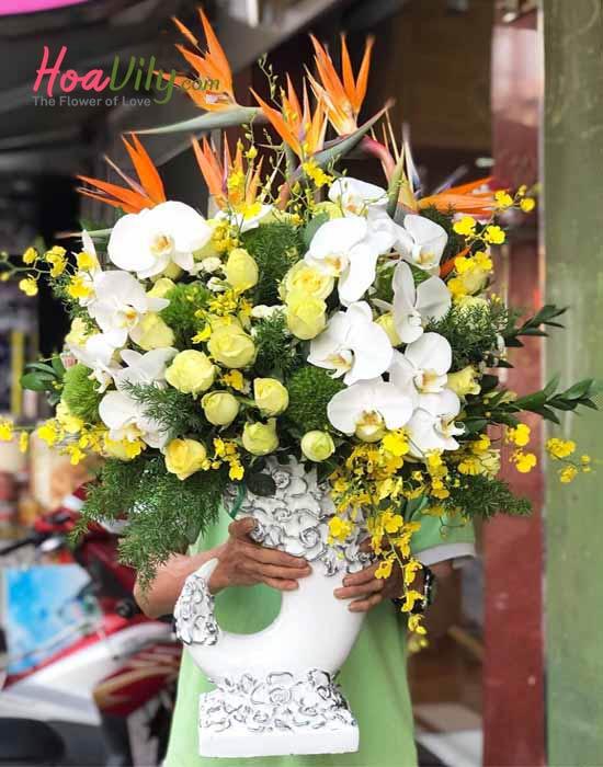 Đặt hoa khai trương tại hoavily