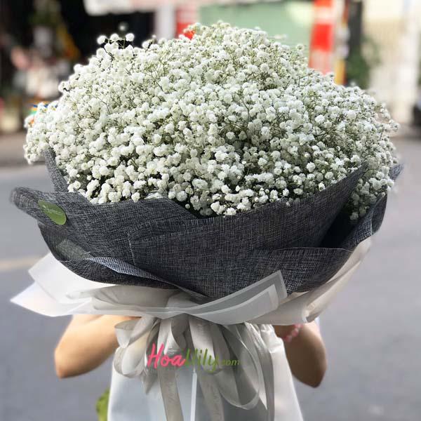 Hoa baby làm hoa tặng valentine