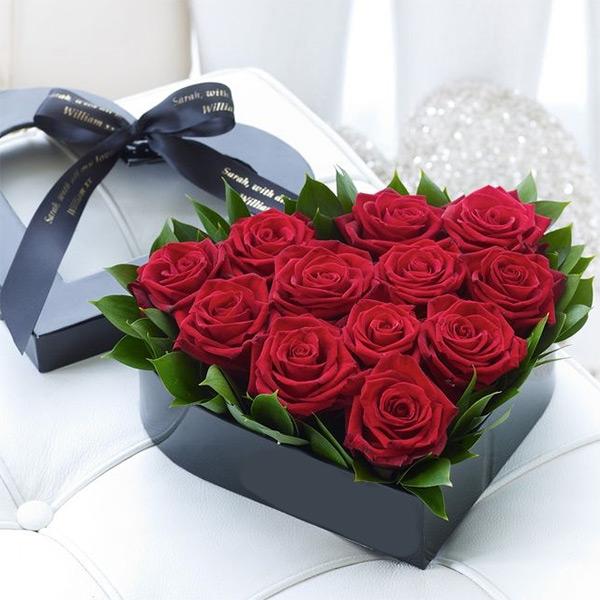 hồng đỏ tặng vợ